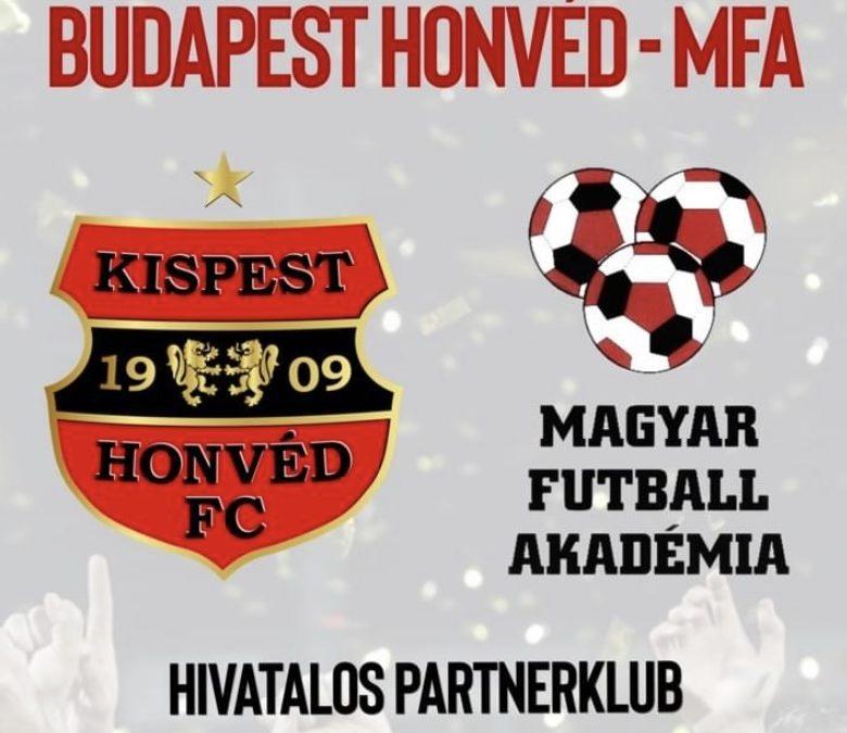 A Budapest Honvéd partneregyesülete lettünk!